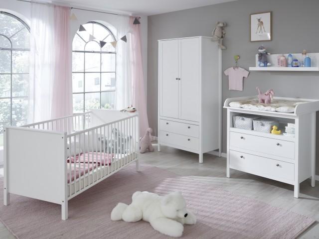 <p>Babyzimmer-Programm in Wei&szlig;. Auswahl nach Typenplan.</p>