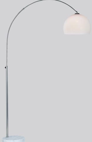 <p>Bogenleuchte, h&ouml&#x3B;henverstellbar bis 210 cm<br />Farbe: Nickel matt</p>