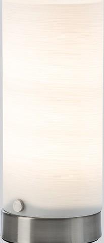 <p>Tischleuchte, inkl. LED Leuchtmittel<br />Farbe: Nickel matt<br />H&ouml&#x3B;he: ca. 20 cm</p>