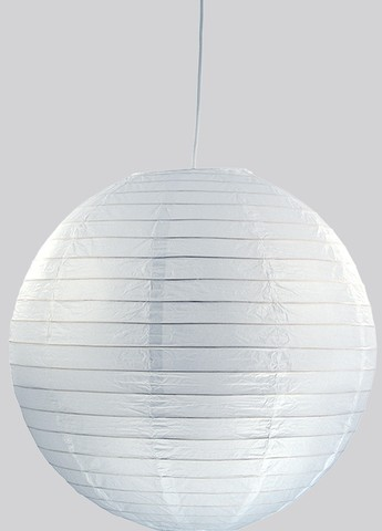<p>Pendel, Papierkugel<br />Farbe: wei&szlig&#x3B;<br />Durchmesser: ca. 40 cm<br />&nbsp&#x3B;</p>