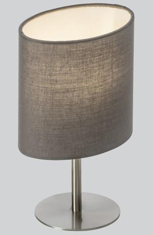 <p>Tischleuchte, inkl. LED Leuchtmittel<br />Fu&szlig&#x3B;: Nickel matt<br />B/H/T: ca. 15x15x10 cm</p>