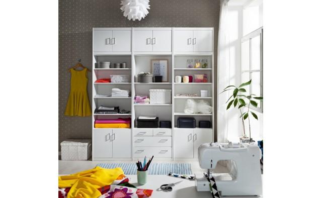 <p>Mit den Kleinm&ouml;belprogramm k&ouml;nnen Sie auch ihr Hobbyraum nach Ihren W&uuml;nschen und Bed&uuml;rfnissen gestalten.</p>