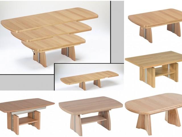 <p>Couchtisch mit Kombilift, massivholz Gestell oder echtholz Furniert, Dekore<br />&nbsp&#x3B;</p>
